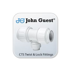 John Guest CTS Twist & Lock Fittings