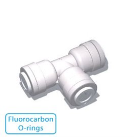 Mur-lok Fittings - White - Fluorocarbon O-rings