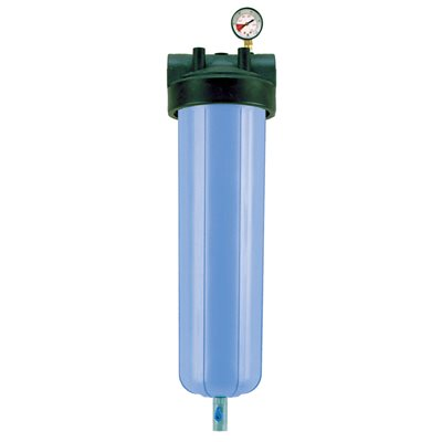 """PBH-420-1.5 20"""" Bag Vessel, 1-1/2"""" in/out"""