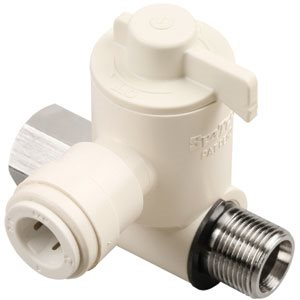 "Sea Tech 1/4"" OD Stop Valve Adapter Lead Free"