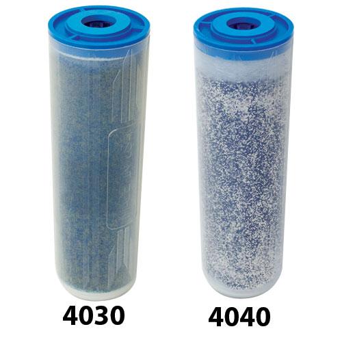 "Aries 4.25"" x 10"" Ultra High Purity Mixed Bed DI Resin Cartridge, 1050 grains capacity, 14-18 megohm"
