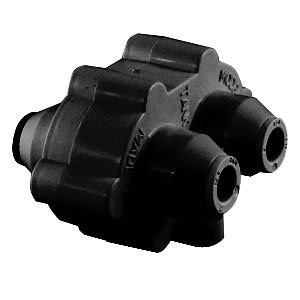 "Hydronamic Auto Shutoff Valve, Black - 3/8"" Mur-lok, 300 gpd or less"