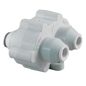 "Hydronamic Permeate Pump Auto Shutoff Valve, 80%, 1/4"" JG"