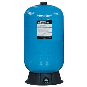 """Structural ROmate 20 Tank, 1"""" Male NPT, NSF 58, 19.8 gallons"""