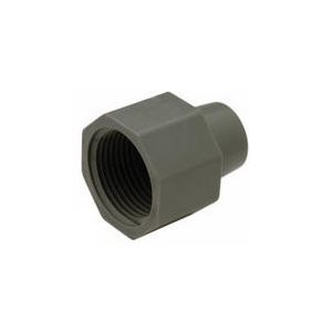 "3/8"" OD Compression Nut - Grey"