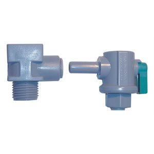 "EZ Faucet Adapter with 1/2"" Mur-lok 90 Ball Valve (1/Bag)"