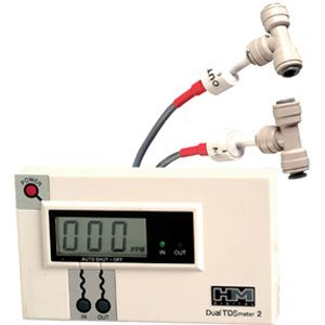 "Commercial Dual Conductivity Meter w/ 1/4"" Tee"