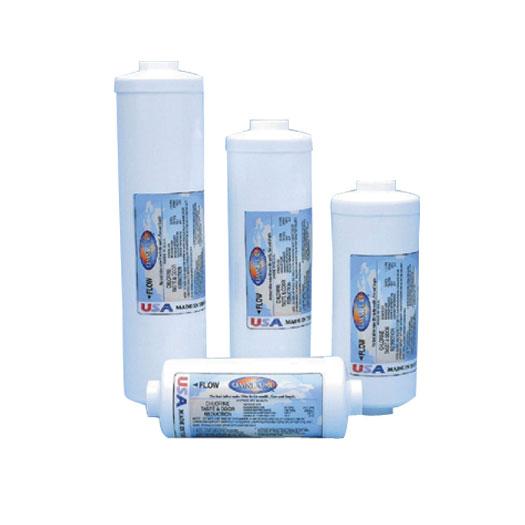 "2""x10""-1/4"" Quick-Connect T40 GAC/Calcite Filter"