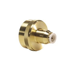 "1/4"" JG Speedfit x 3/4"" Female Hose Thread - Lead Free Brass"