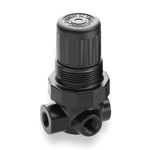 R91 4 Port 0-10 PSI Norgren Regulator - USP Class 6