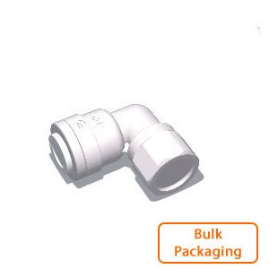 "1/4"" Tube x 1/8"" Female NPTF Elbow (Bulk Pkg)"