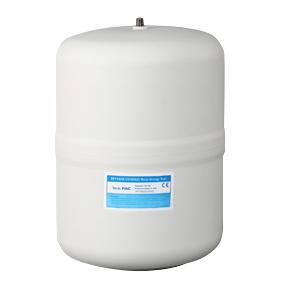 "Pa-e RO Tank, Plastic, 1/4"" NPT, 2.5 gallon"