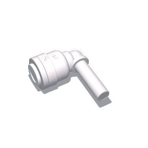 "1/4"" Tube x 1/4"" Stem Elbow (10/Bag)"